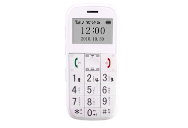 GPS Senior Phone White GS503